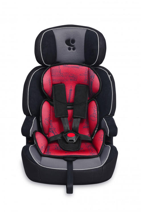 Lorelli Navigator autósülés 9-36kg - Black&Red Cities 2019