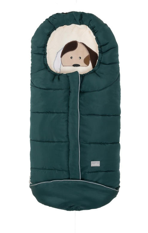 Nuvita Junior Cuccioli bundazsák 100cm - Dog Dark Green / Beige - 9605